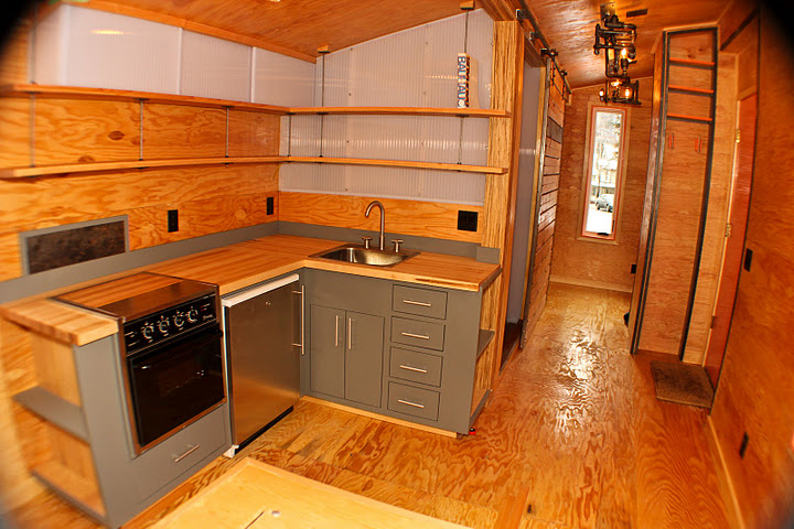 tiny house collaboration fabrication. Black Bedroom Furniture Sets. Home Design Ideas