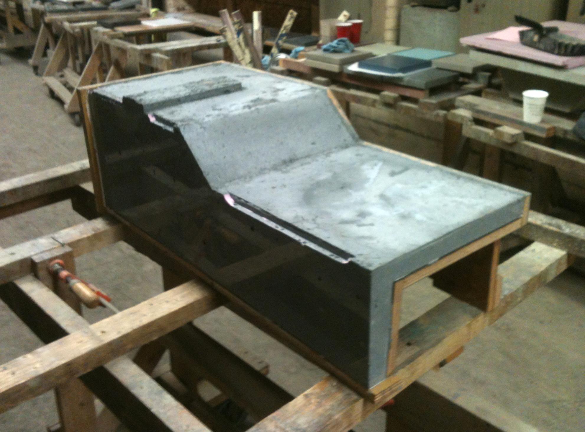 Concrete Counters – collaboration & fabrication