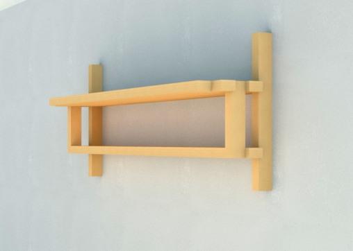 ash shelf render